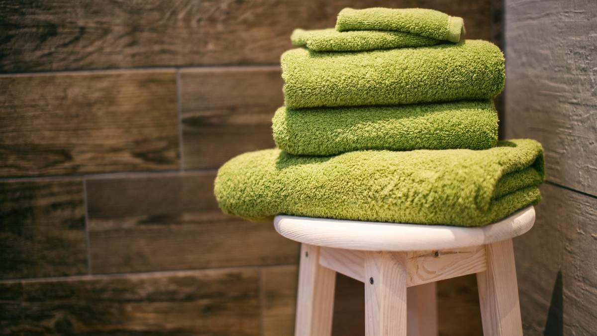 Як часто міняти рушник