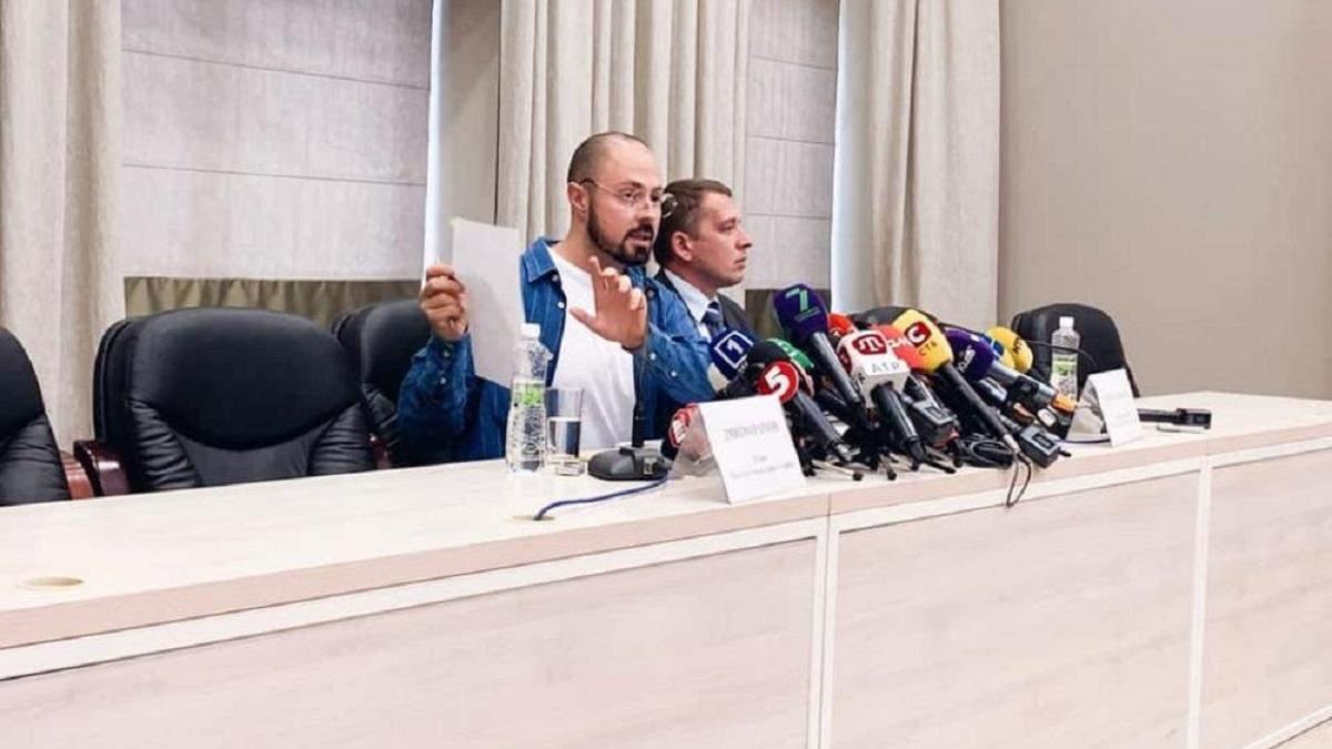 Заступник голови МОЗ втік з брифінгу після незручного питання – відео