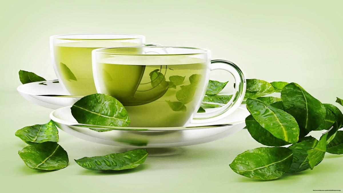 Зеленый чай содержит соединения, которые борются с бактериями