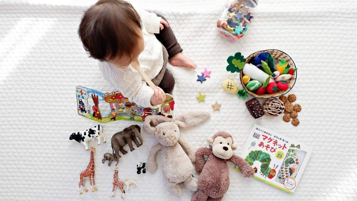 Як мити дитячі іграшки