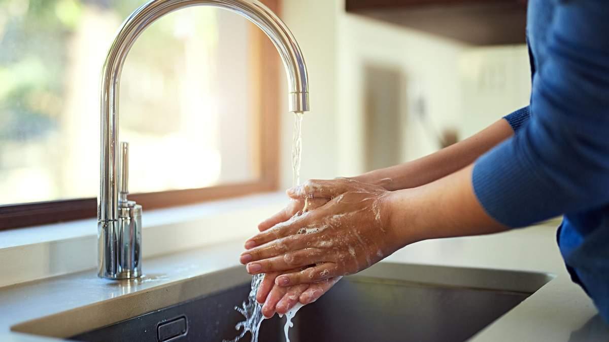 Правильне миття рук