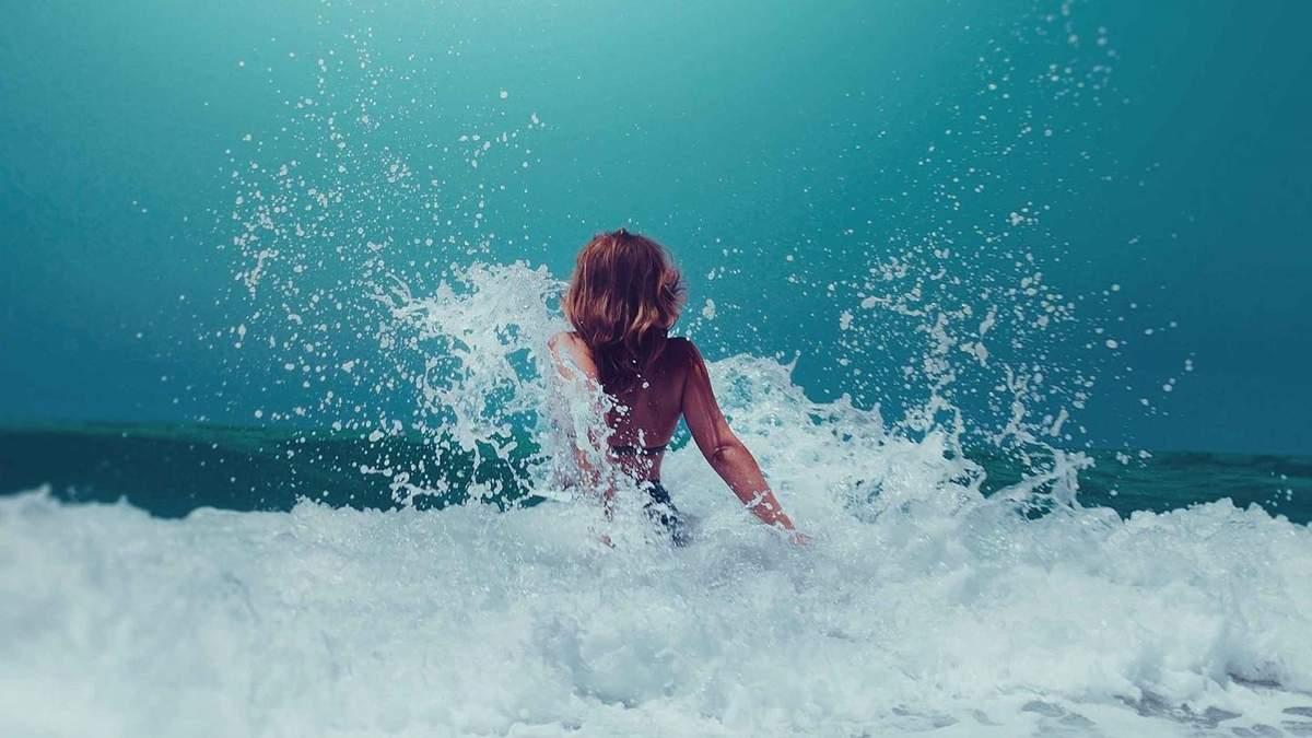 Морская вода меняет микробиом кожи