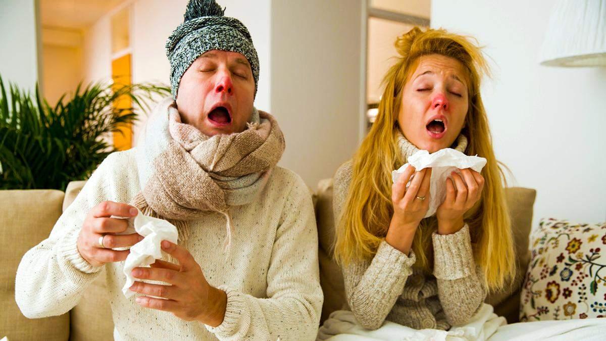 Міфи про грип та застуду
