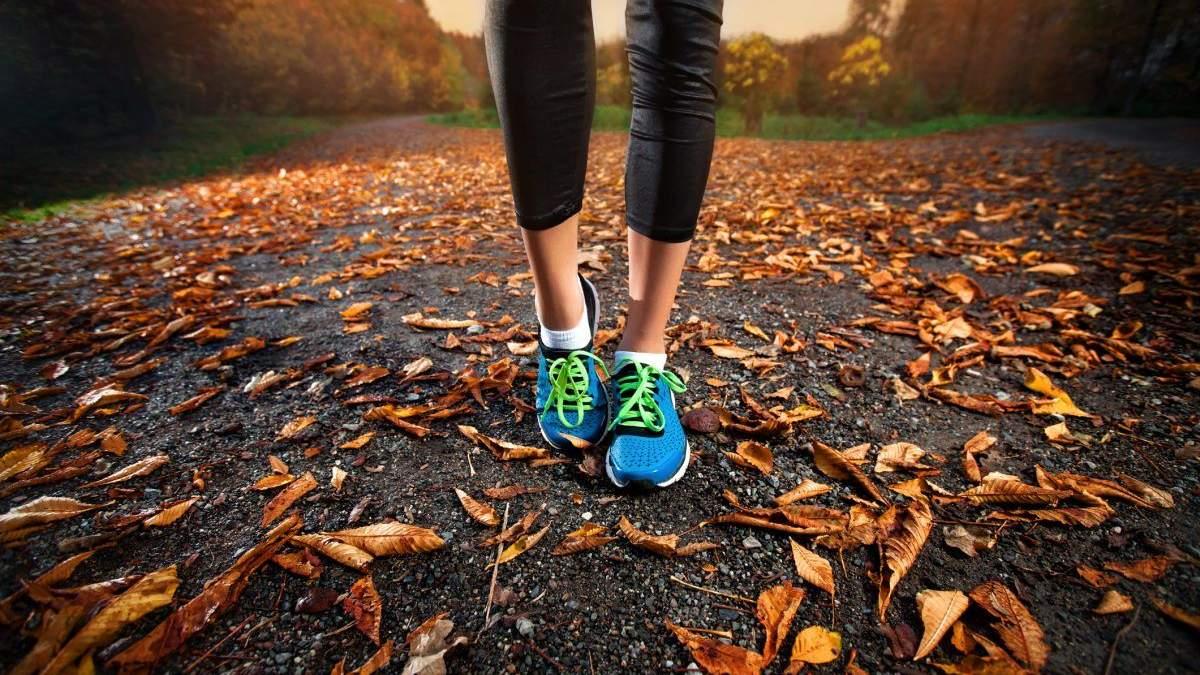 Тренування восени: чому в холодну пору потрібно займатися