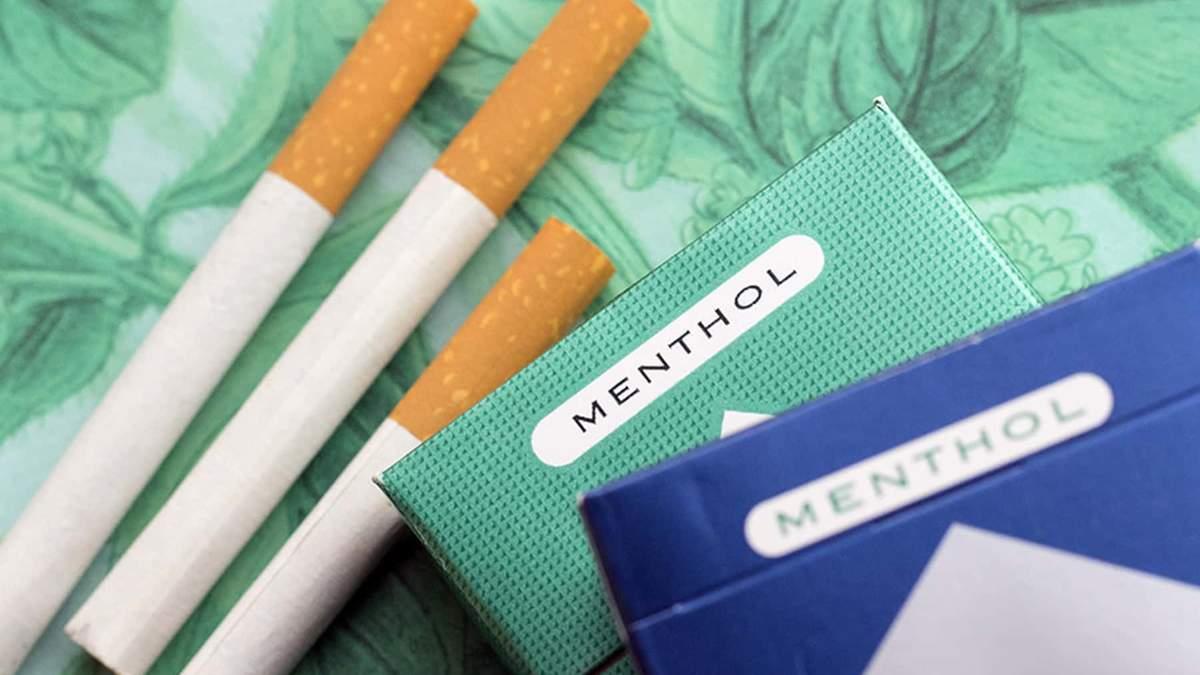 Сигарети з ментолом – шкода для чоловіків
