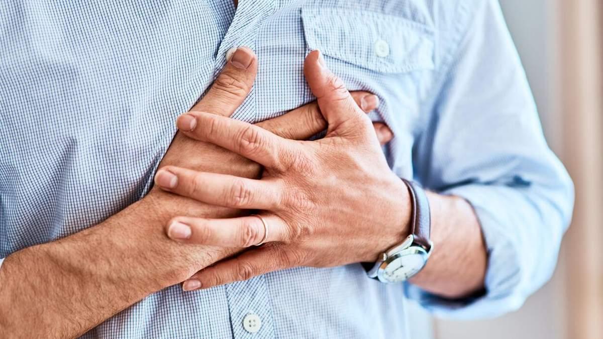 ГРВІ може викликати серцевий напад