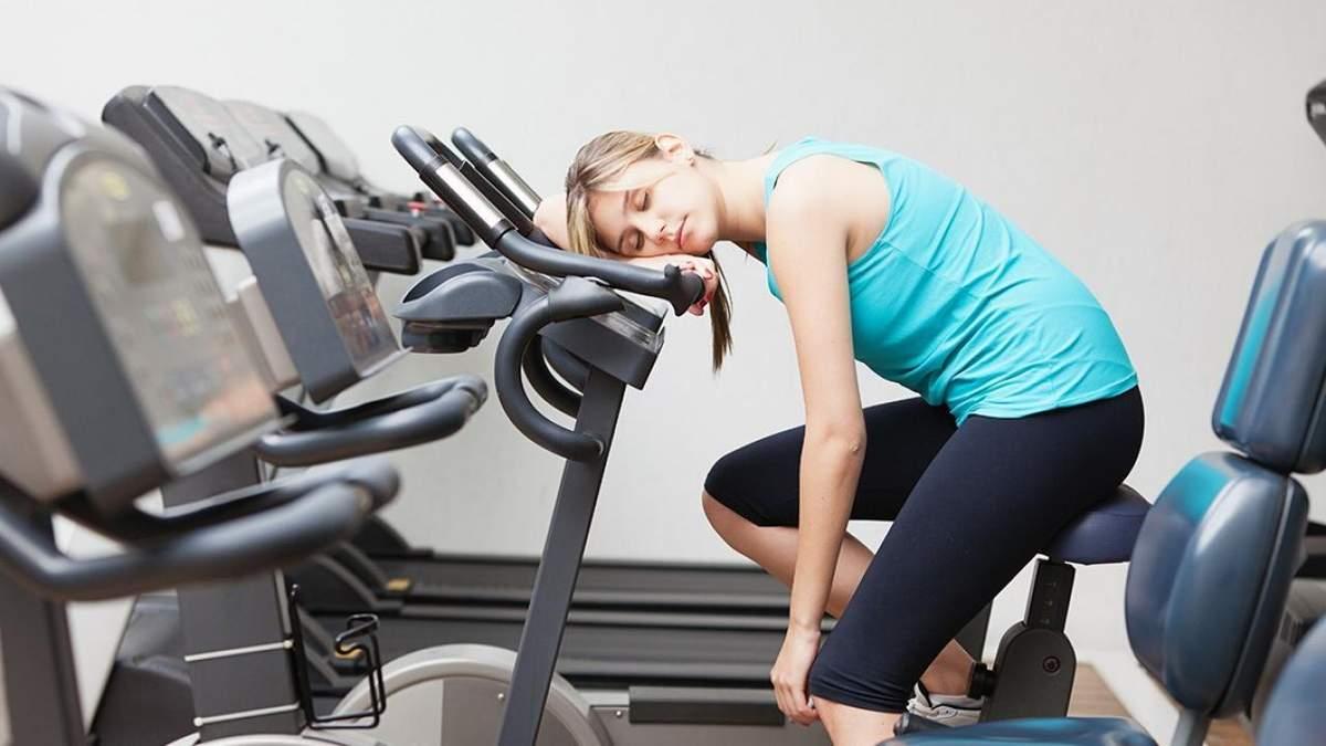 Усталость и спорт