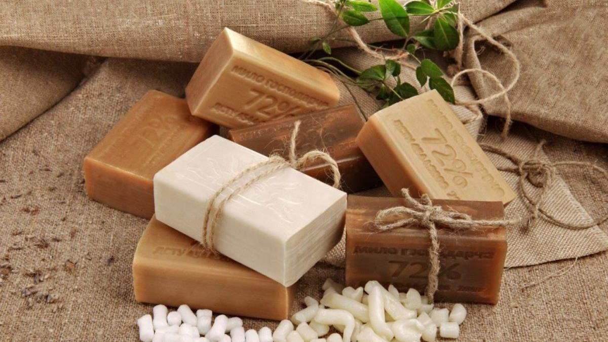 Отрицательные свойства хозяйственного мыла
