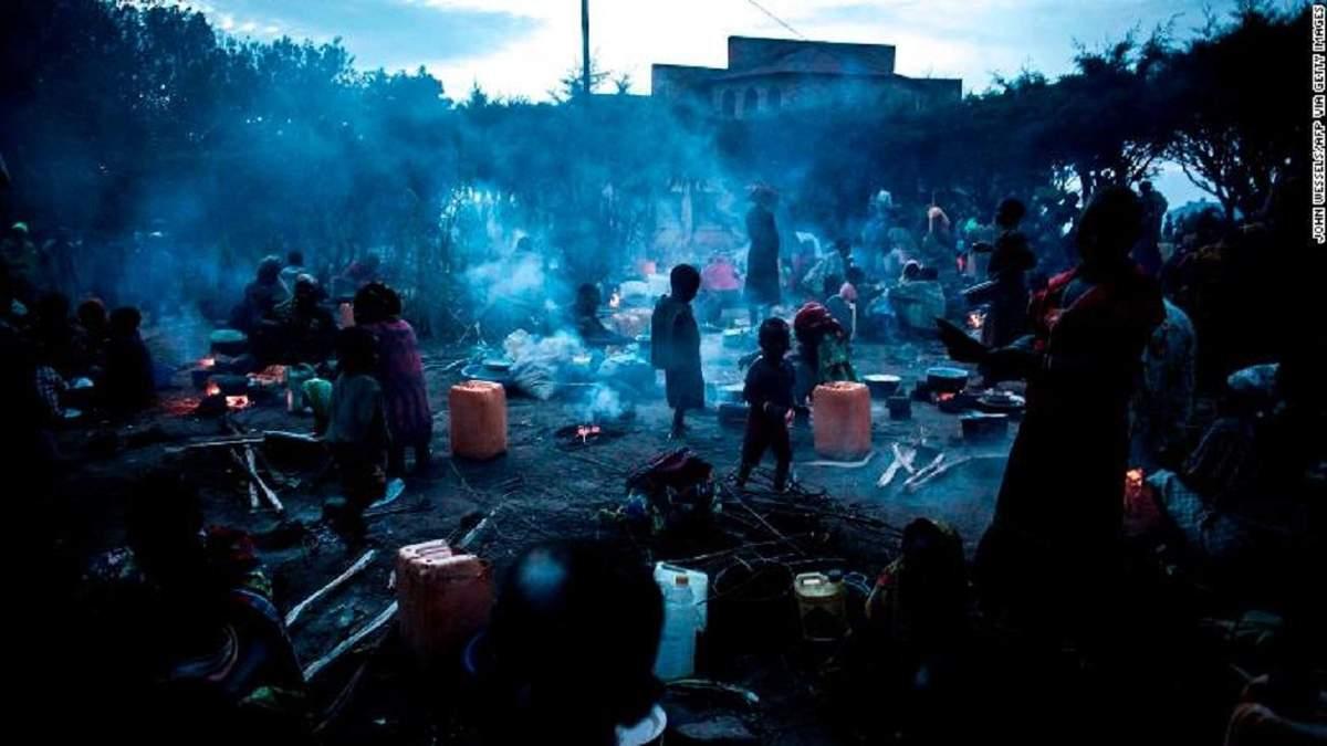 Эпидемия кори и Эболы в Конго
