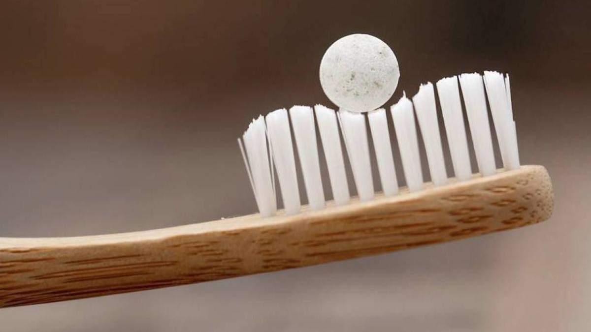 Зубна паста у формі таблеток
