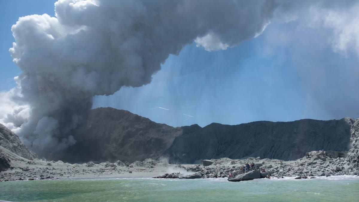 Виверження вулкана в Новій Зеландії