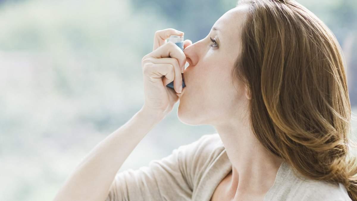 Як полегшити симптоми астми