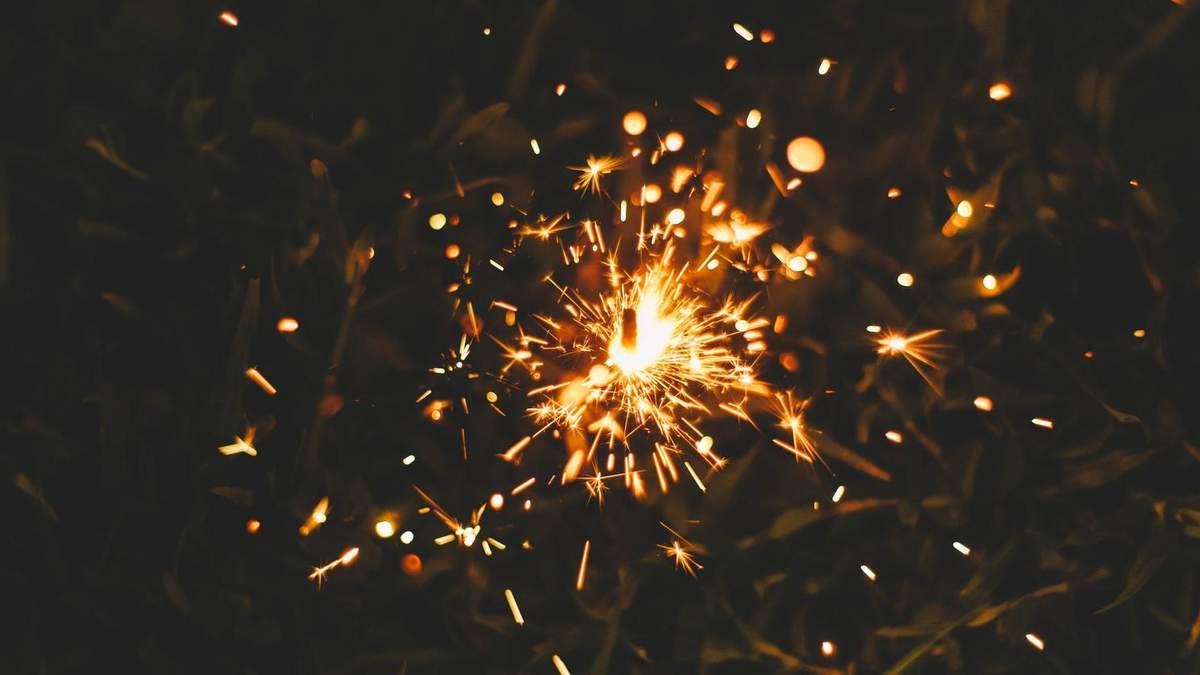 Бенгальські вогні – як правильно користуватись