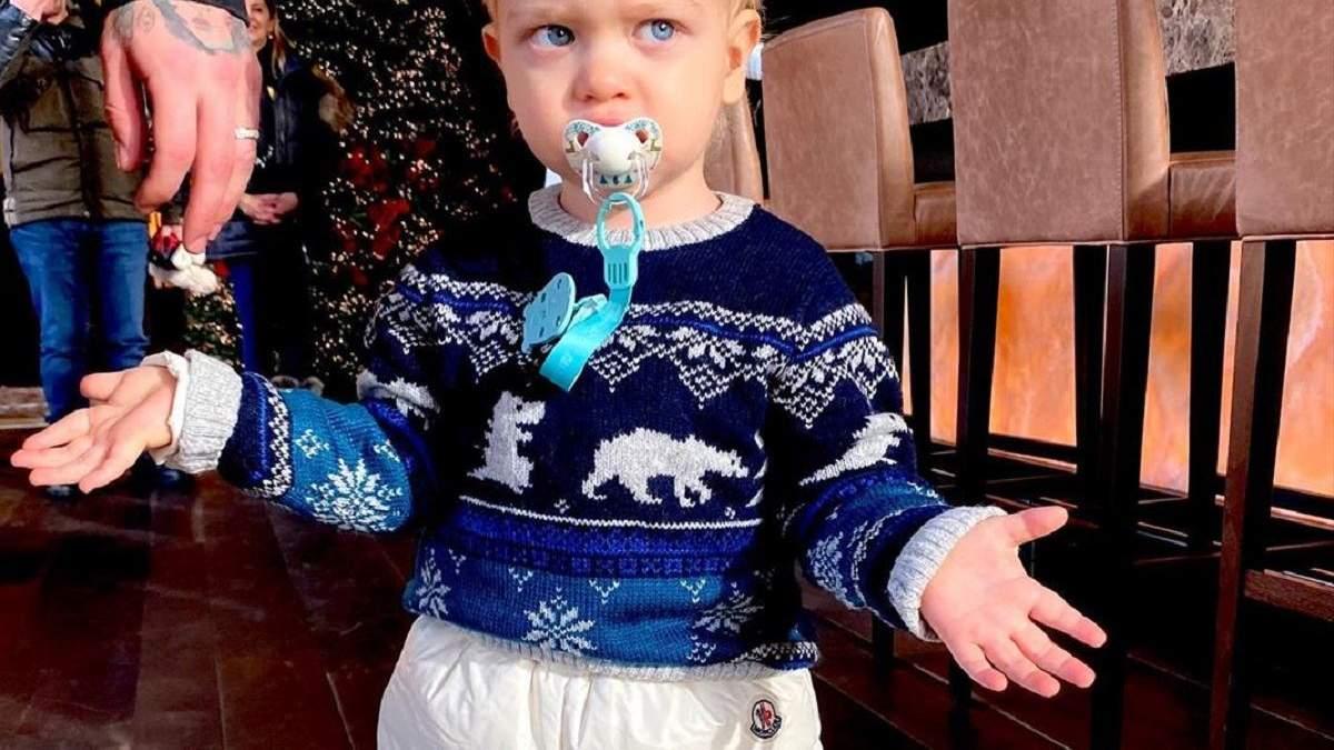 На фото: сын Кьяры Ферраньи Лео / Как вернуться к нормальной жизни после Нового года