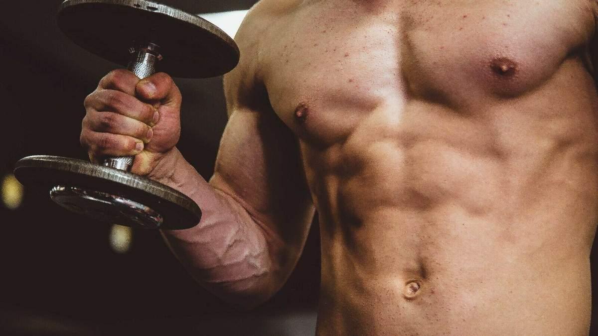 Білок здатний зміцнити м'язи без вправ