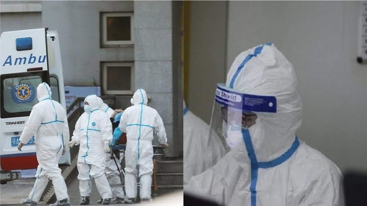 Медики, які лікують пацієнтів від коронавіруса в Ухані