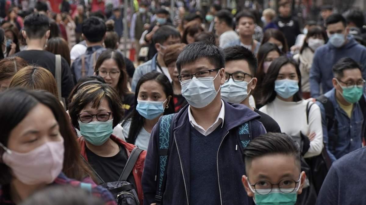Больница для лечения коронавируса в Китае