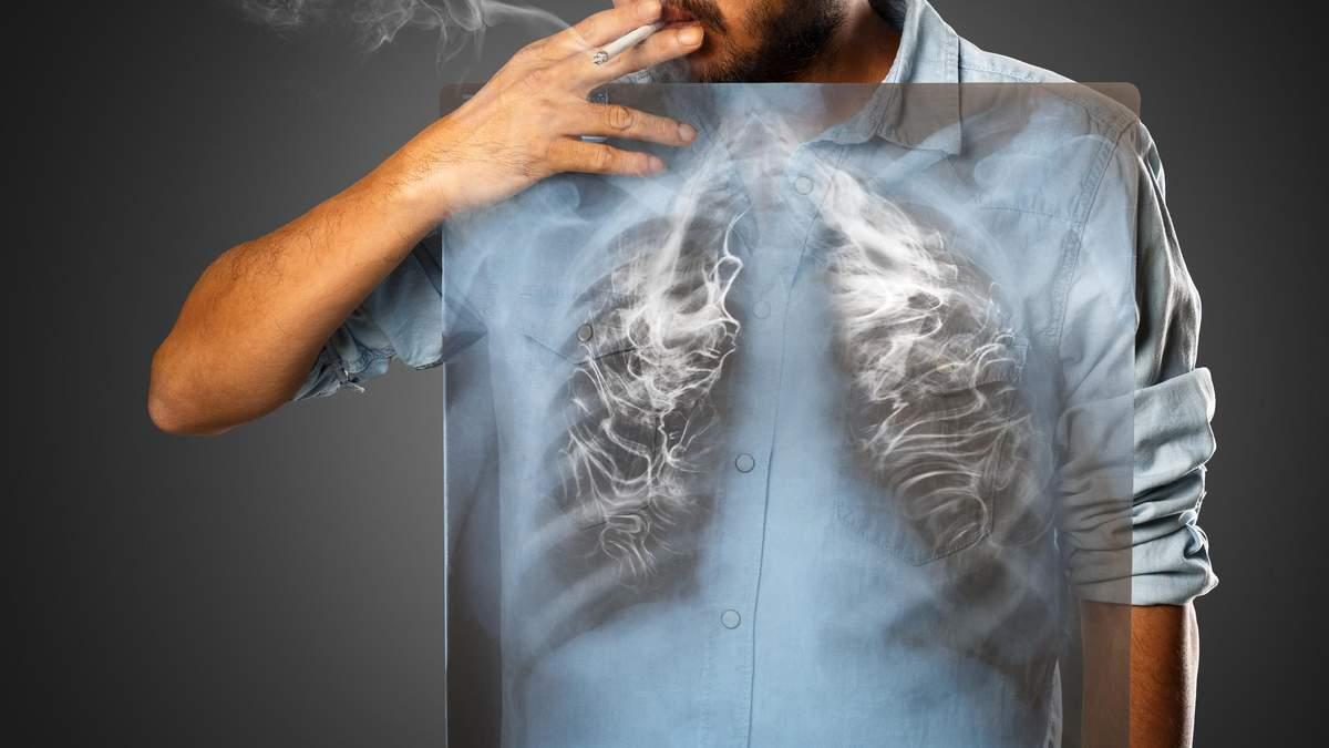 Відновлення легенів після куріння
