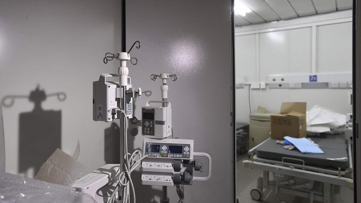 Лікарня для лікування коронавірусу в Китаї