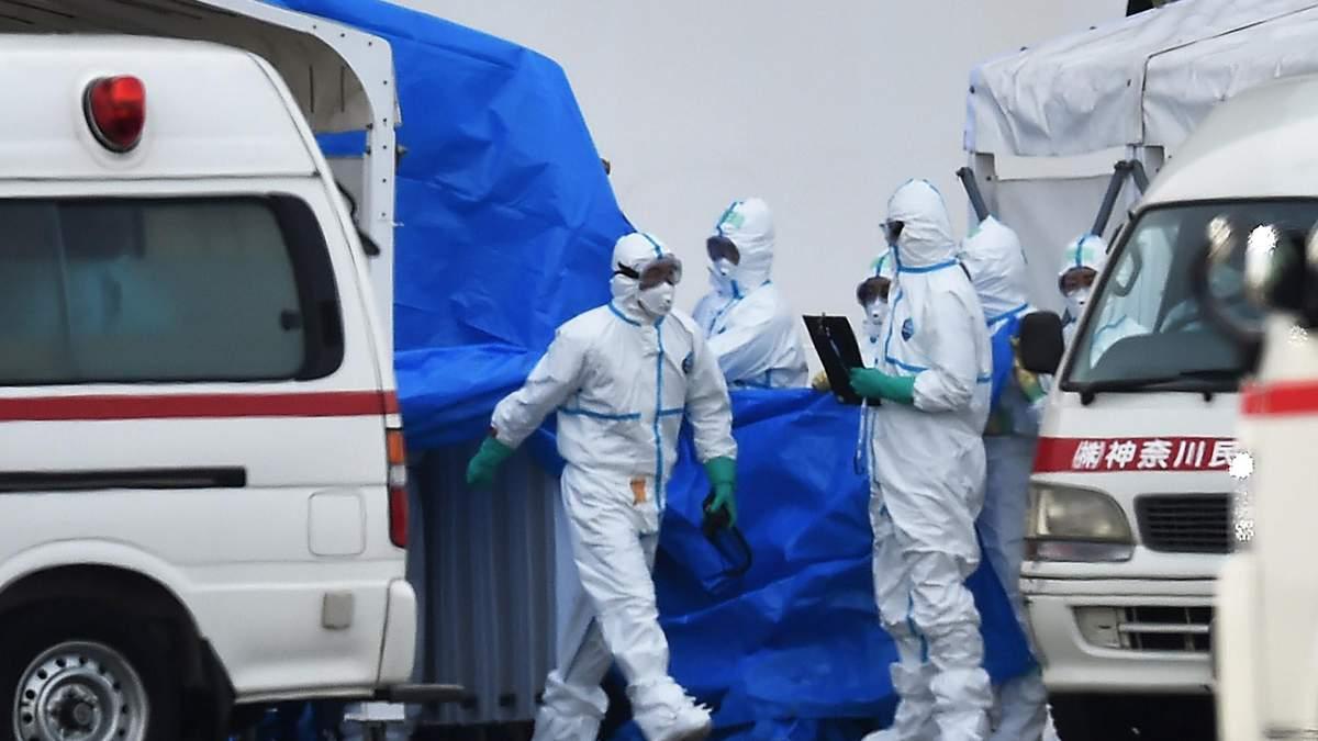 На лайнері в Японії виявили вже 70 хворих на коронавірус, на борту є українці