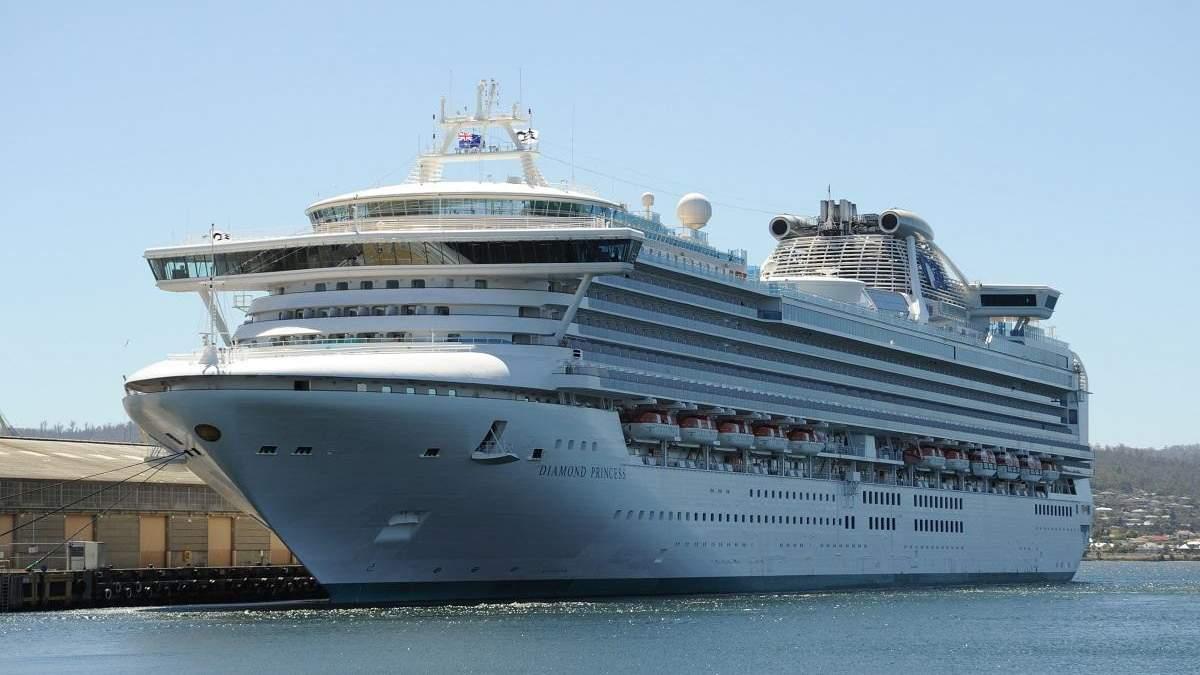 Українець з коронавірусом з лайнера Diamond Princess проведе в японській лікарні щонайменше 14 днів
