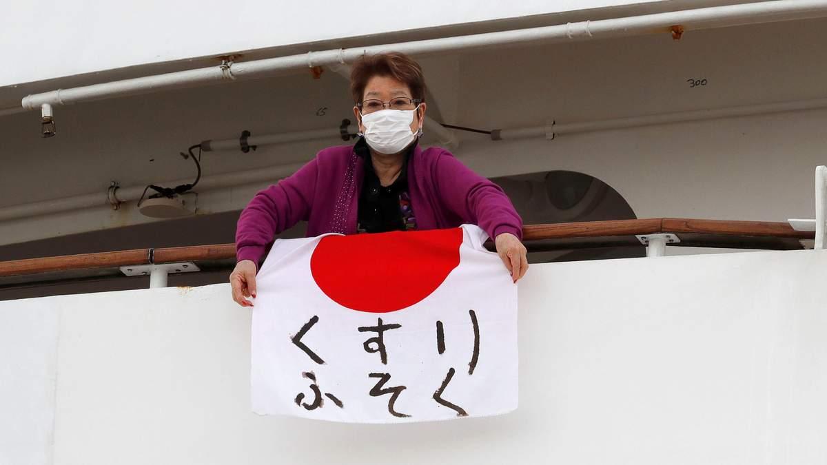 Коронавирус на лайнере, Япония – новости, количество заболевших