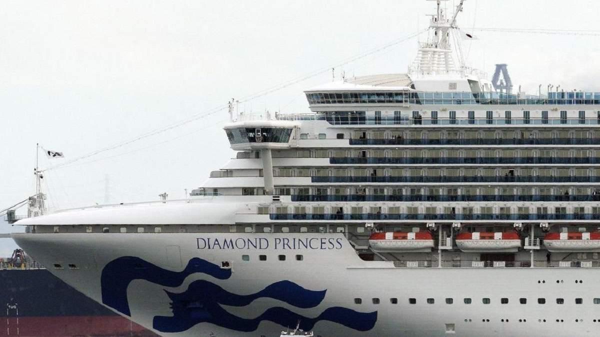 Известна дата снятия карантина с японского лайнера Diamond Princess