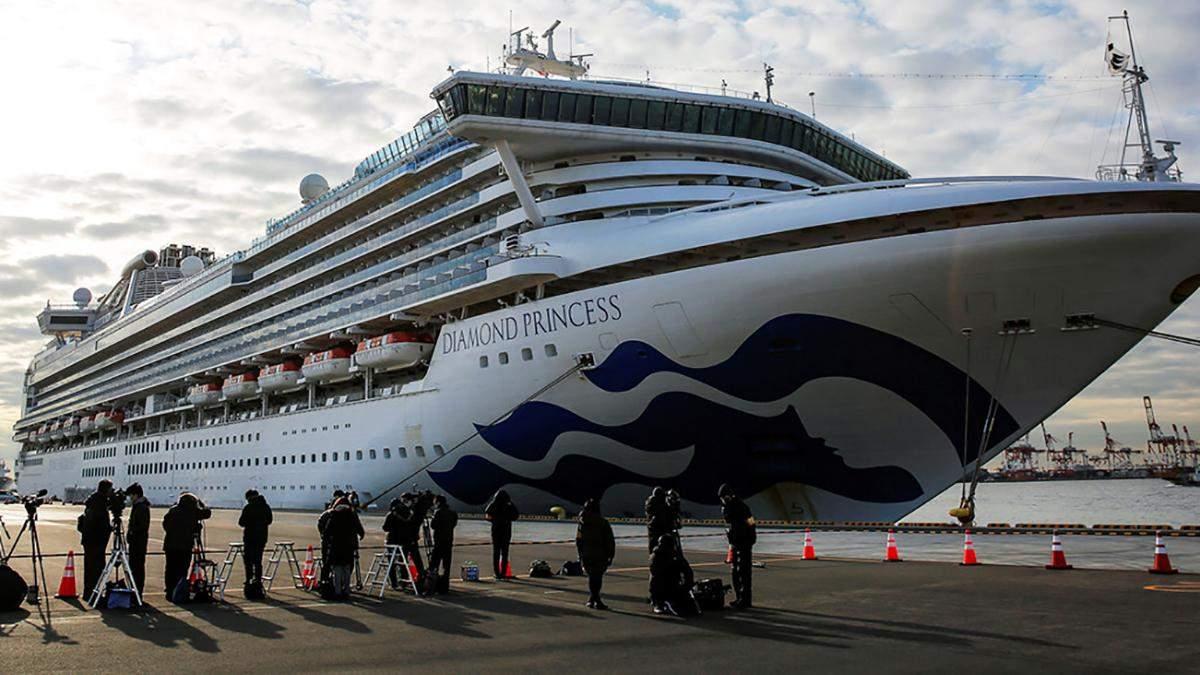 Коронавірус на лайнері Diamond Princess: Канада евакуйовує своїх громадян