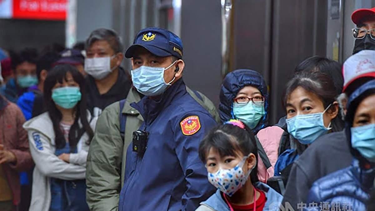 На Тайвані підтвердили першу смерть від коронавірусу: деталі
