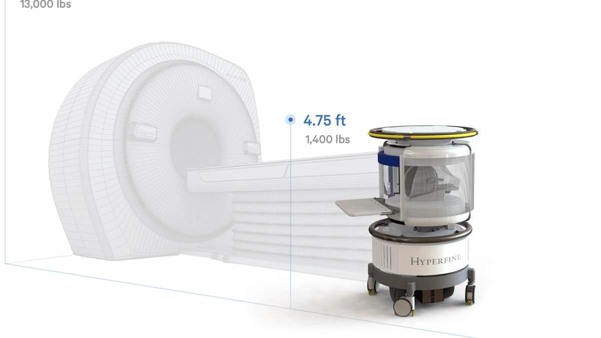 В США утвердили использование портативного МРТ