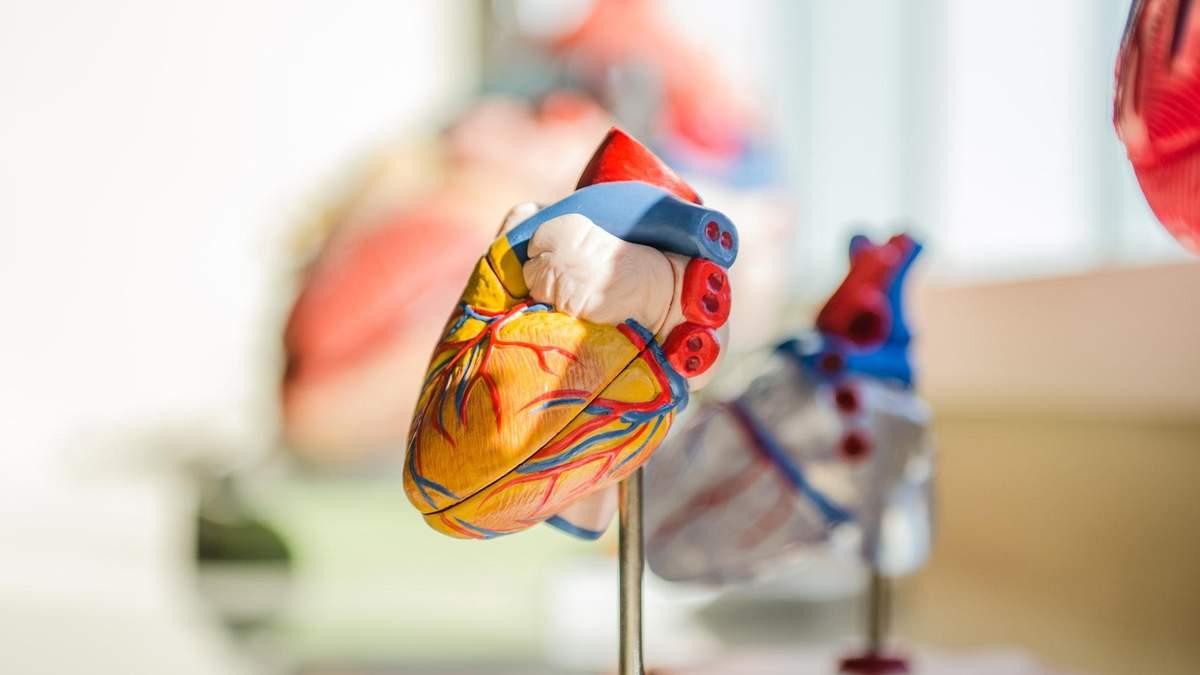 Ризики інсульту та інфаркту