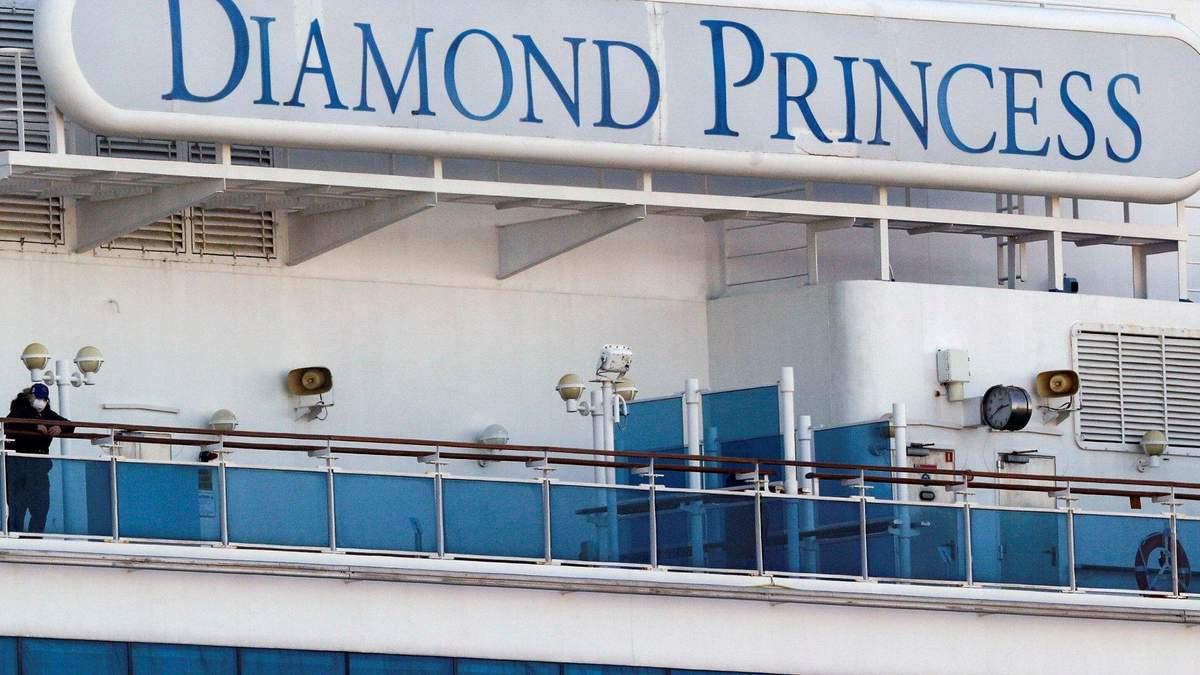 Підтвердили перші смертельні випадки на судні Diamond Princess,
