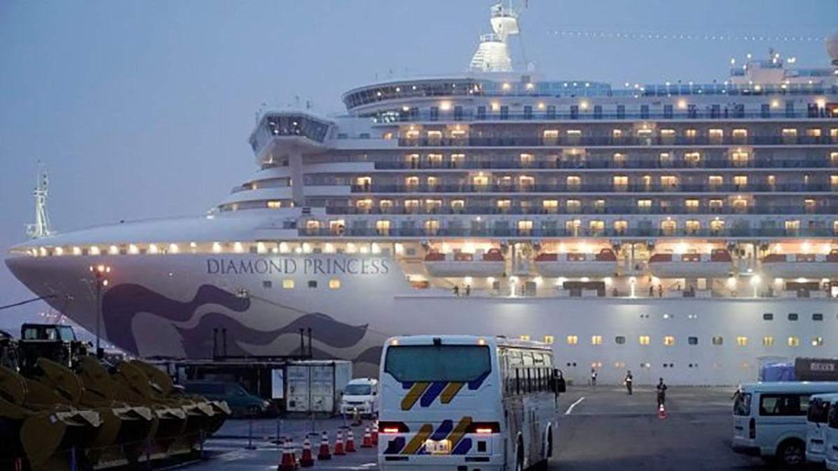 Евакуація громадян з лайнера Diamond Princess