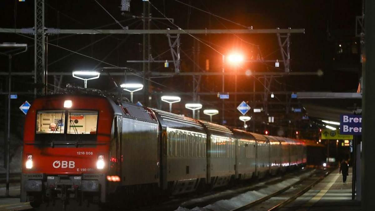 Австрія зупинила поїзди з Італії через загрозу коронавірусу