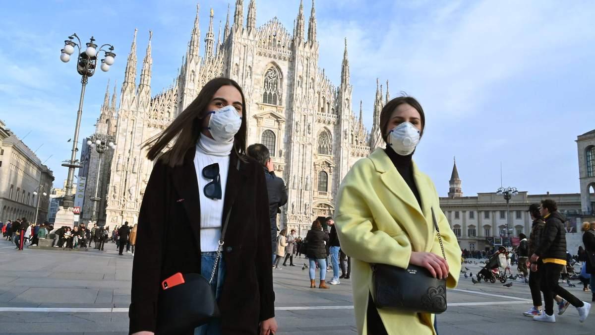 Спалах коронавірусу в Італії: українець розповів про ситуацію в Мілані