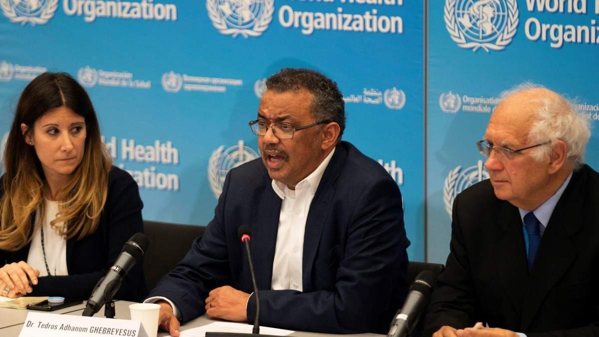 Брифинг Всемирной организации здравоохранения