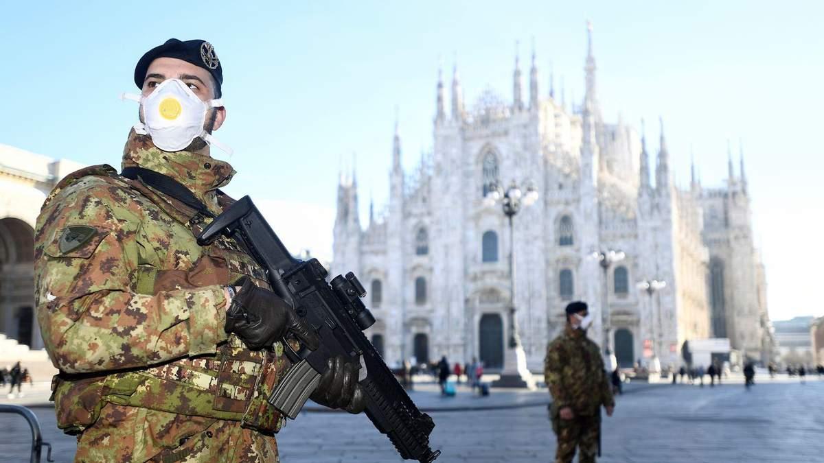 Найбільша кількість хворих – в італійських регіонах Ломбардії і Венето