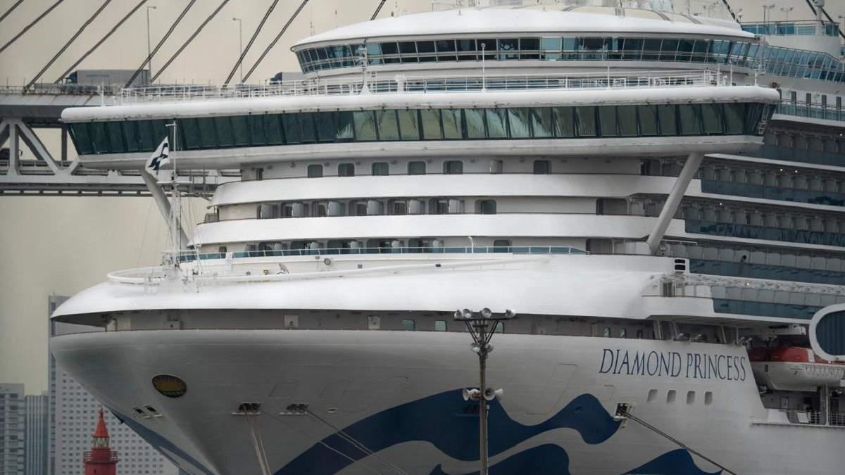 Украинцы решили остаться на борту лайнера Diamond Princess, – МИД
