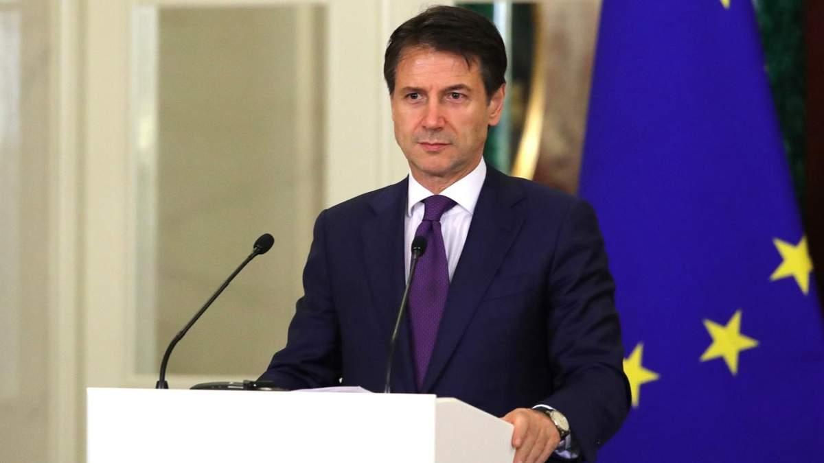 Джузеппе назвав причину поширення коронавірусу в Італії