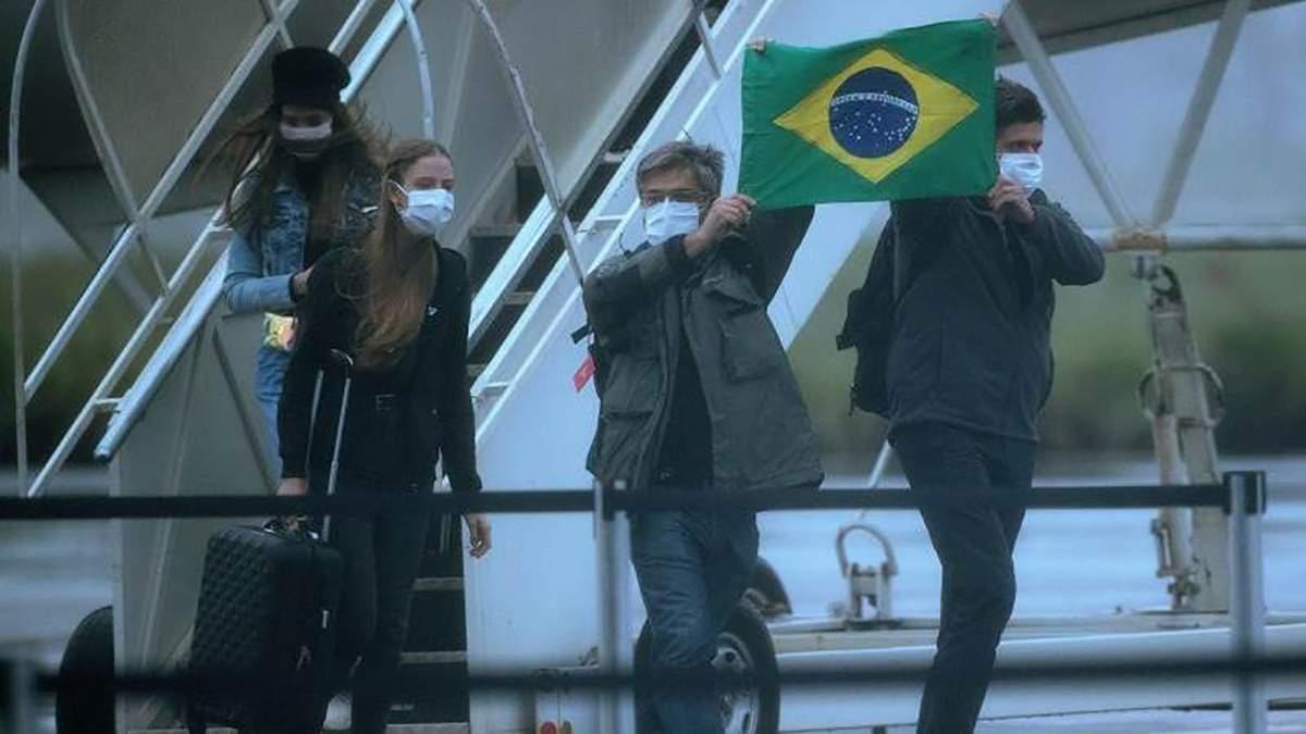 Коронавірус уже в Бразилії