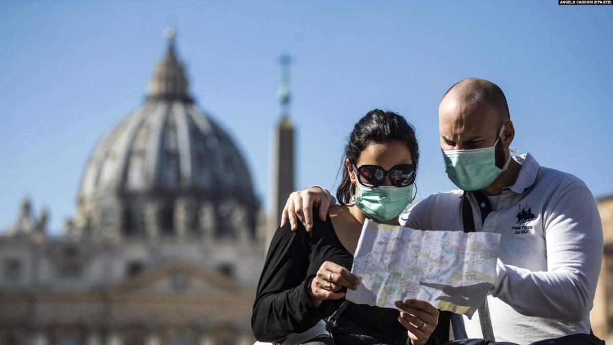 Коронавірус стрімко поширюється по Європі