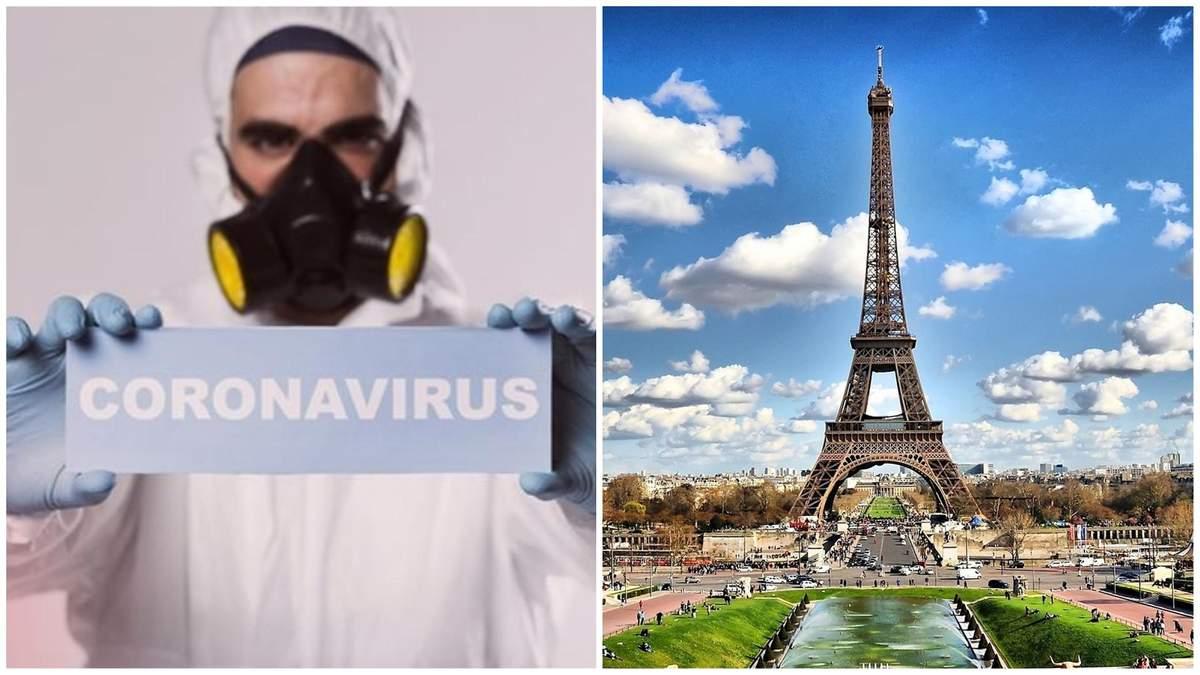 Коронавірус у Франції: за добу вдвічі зросла кількість заражених