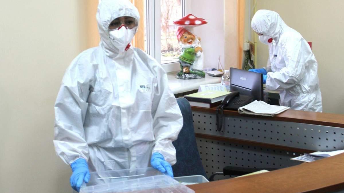 Кількість інфекційних боксів в Україні