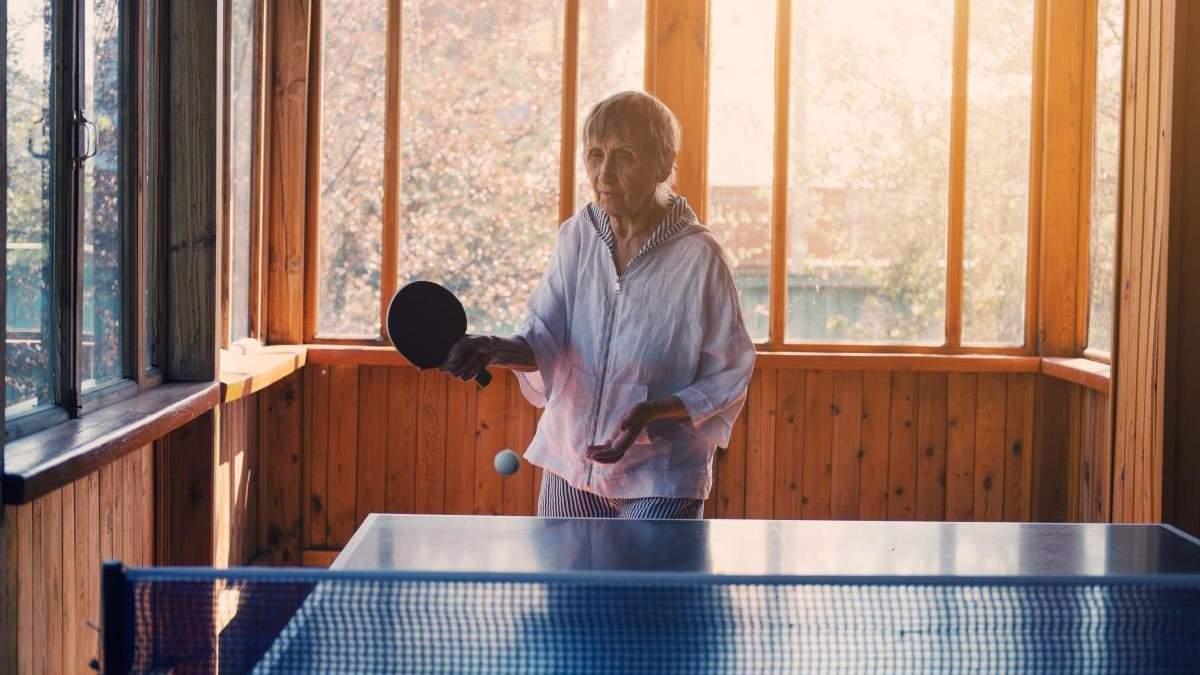Пінг-понг покращує стан при деменції