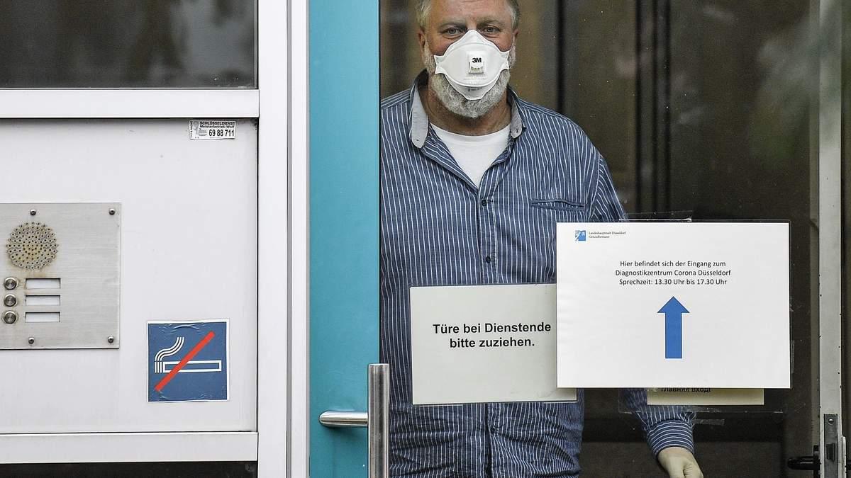 У Нідерландах від коронавірусу помер чоловік