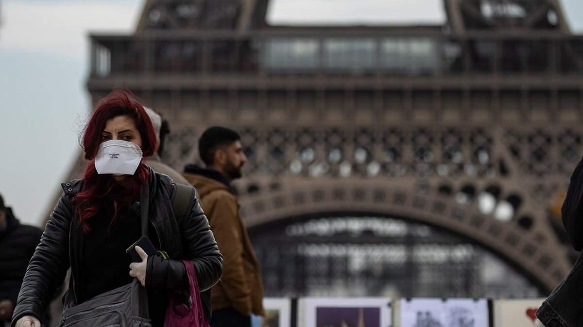 Коронавірус лютує у Франції