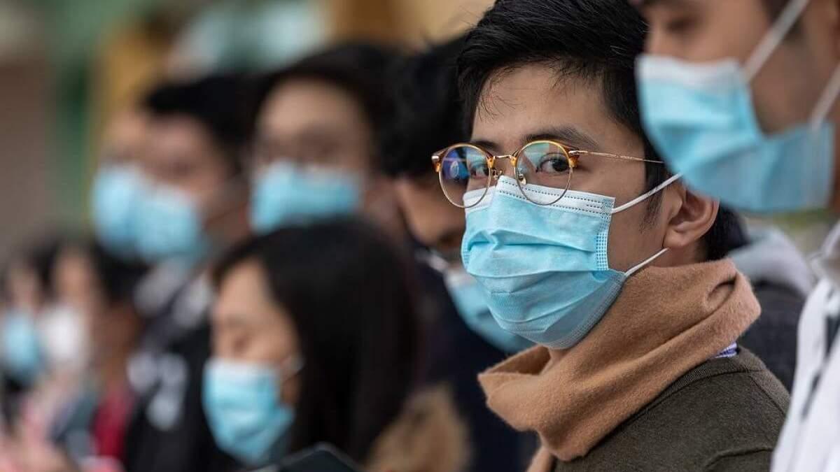 У Китаї значно менше нових випадків зараження на коронавірус
