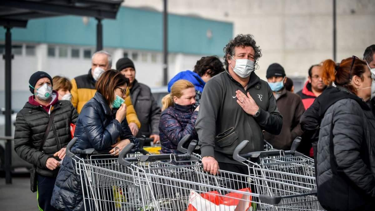 Италия – вторая страна после Китая, где самые высокие показатели распространения коронавируса