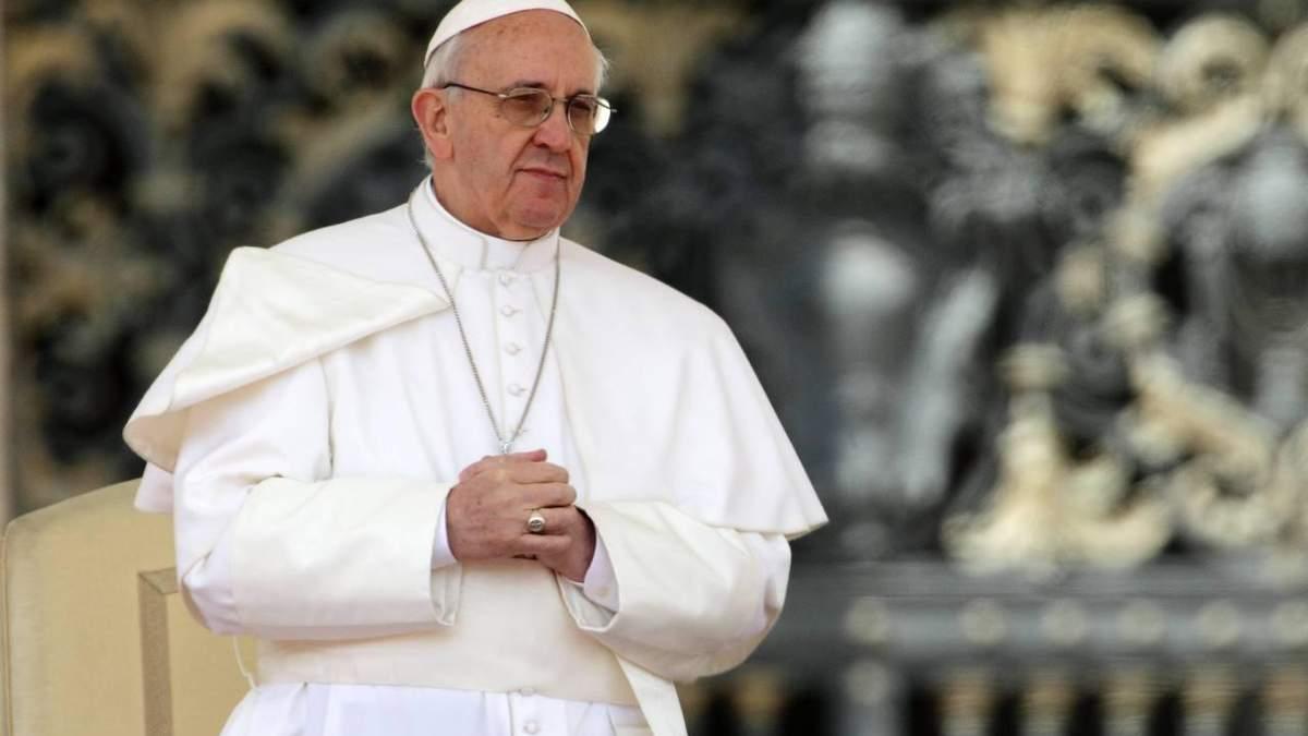 Папа Римский призвал поддержать больных