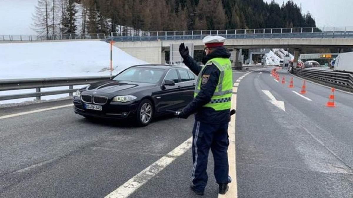 Австрія та Словенія закрили кордон з Італією